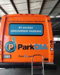Parkway Parking Park Dia Denver Airport Parking